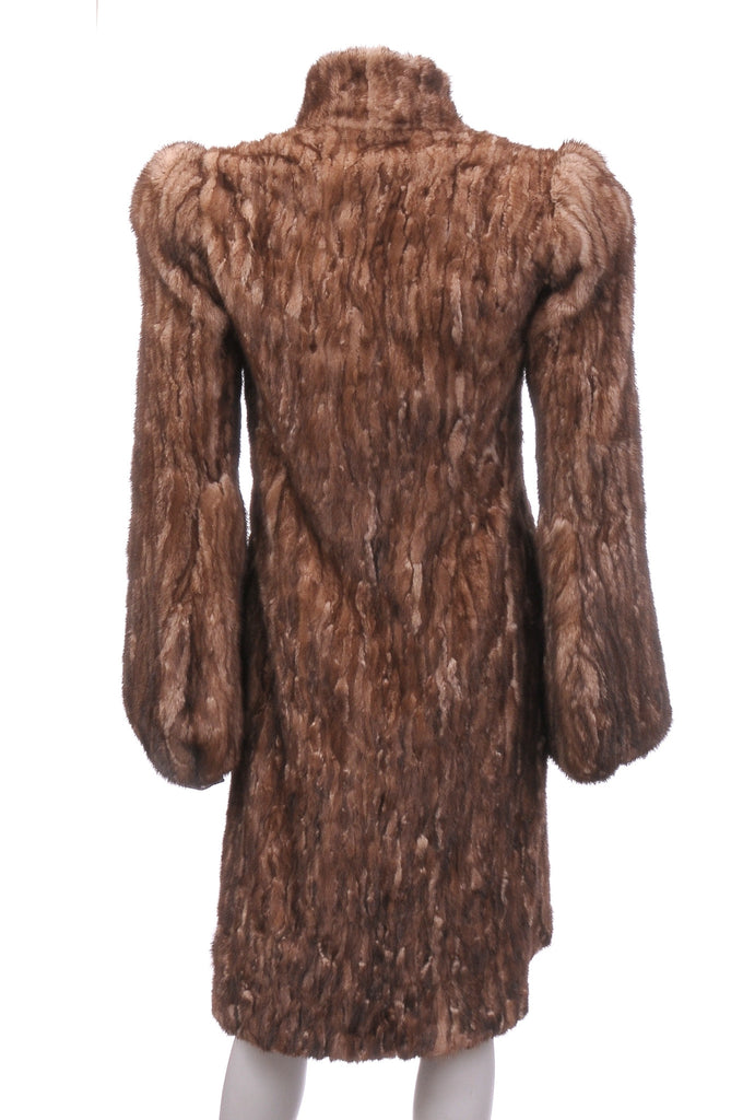 Prada Mink Fur Long Coat, Coats & Jackets, Prada, Closet Upgrade - Closet-Upgrade