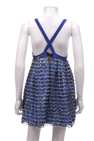 Proenza Schouler Runway Collection Textured Silk Bustier Empire Dress, Dresses, Proenza Schouler, Closet Upgrade - Closet-Upgrade