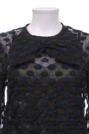 Louis Vuitton Jacquard Polka Dot Blouse, Tops & Shirts, Louis Vuitton, Closet Upgrade - Closet-Upgrade
