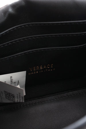 Versace 'Virtus' Mini Embellished Leather Shoulder Bag