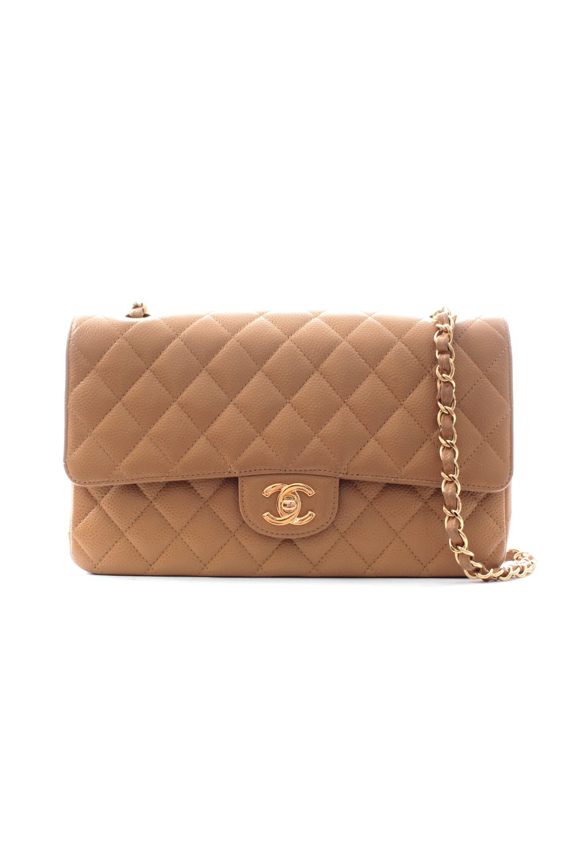 Chanel Timeless Caviar Leather Flap Bag