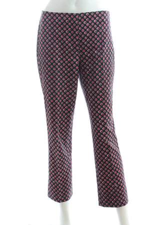 Prada Printed Wool-Stretch Trousers