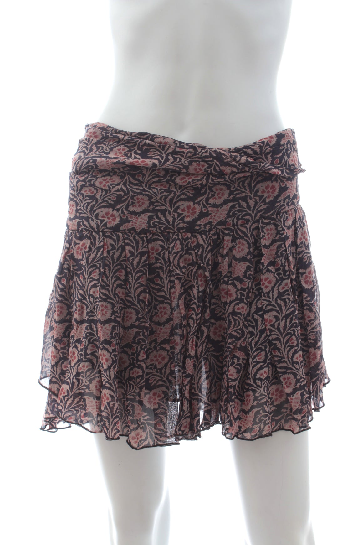 Isabel Marant Etoile 'Drune' Printed Mini Skirt