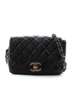 Chanel Patent Square Mini Flap Bag