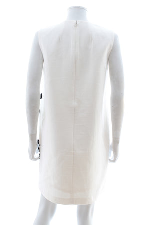 Mother of Pearl 'Franklin' Embellished Cotton Shift Dress