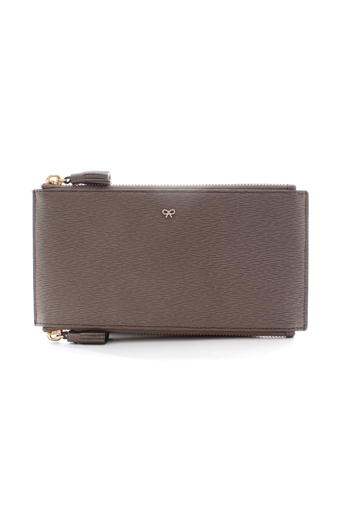 Anya Hindmarch Double Zip Leather Pouch