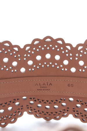 Alaïa 'Vienne' Laser-Cut Leather Corset Belt