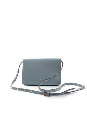 RED Valentino Star Studded Leather Crossbody Bag