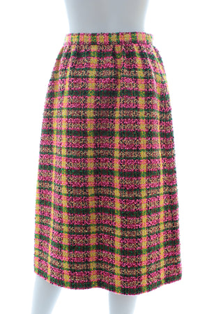 Gucci Wool-Blend Tweed Skirt - Cruise 2020 Runway Collection - Current Season