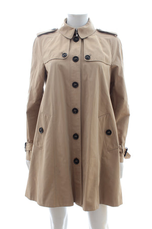 Burberry Prorsum Cotton Trench Coat
