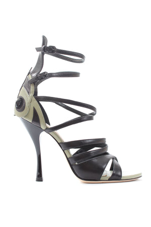 Bottega Veneta Calf Butterfly Sandals