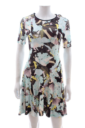Erdem Te Pari-Print Stretch-Jersey Dress