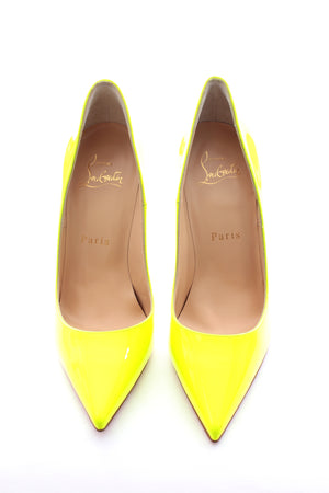 Christian Louboutin So Kate 120 Patent Fluorescent Pumps