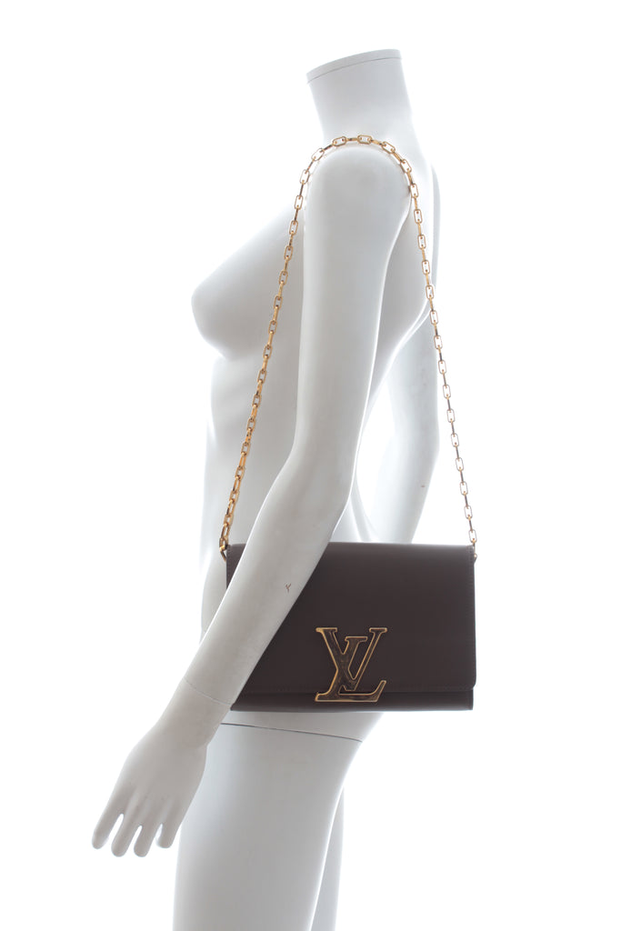 Louis Vuitton Louise GM Leather Chain Bag