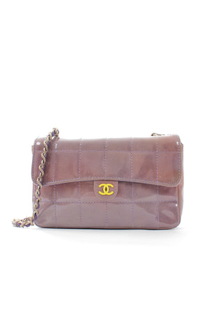 Chanel Timeless Patent Leather Mini Flap Bag