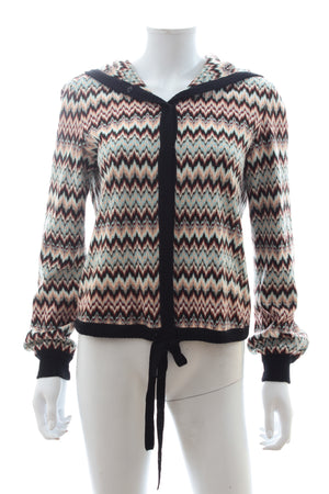 Missoni Knit Hooded Cardigan