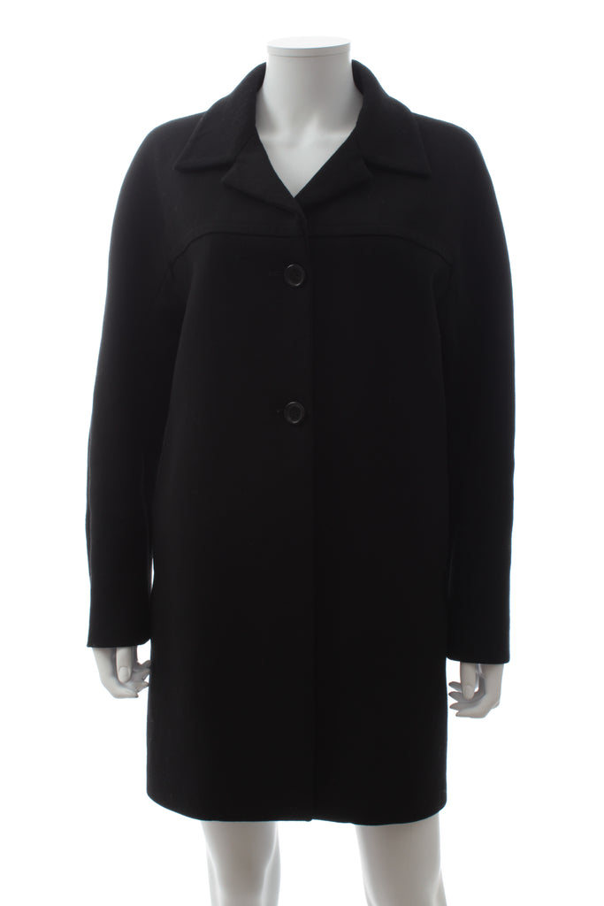 Marni Classic Wool-Linen Tailored Coat