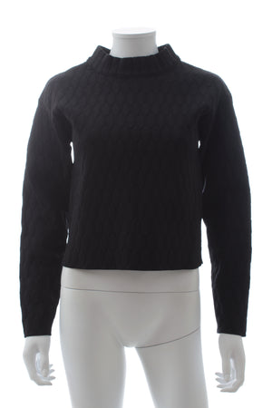 Jonathan Simkhai Button-Back Textured Sweater