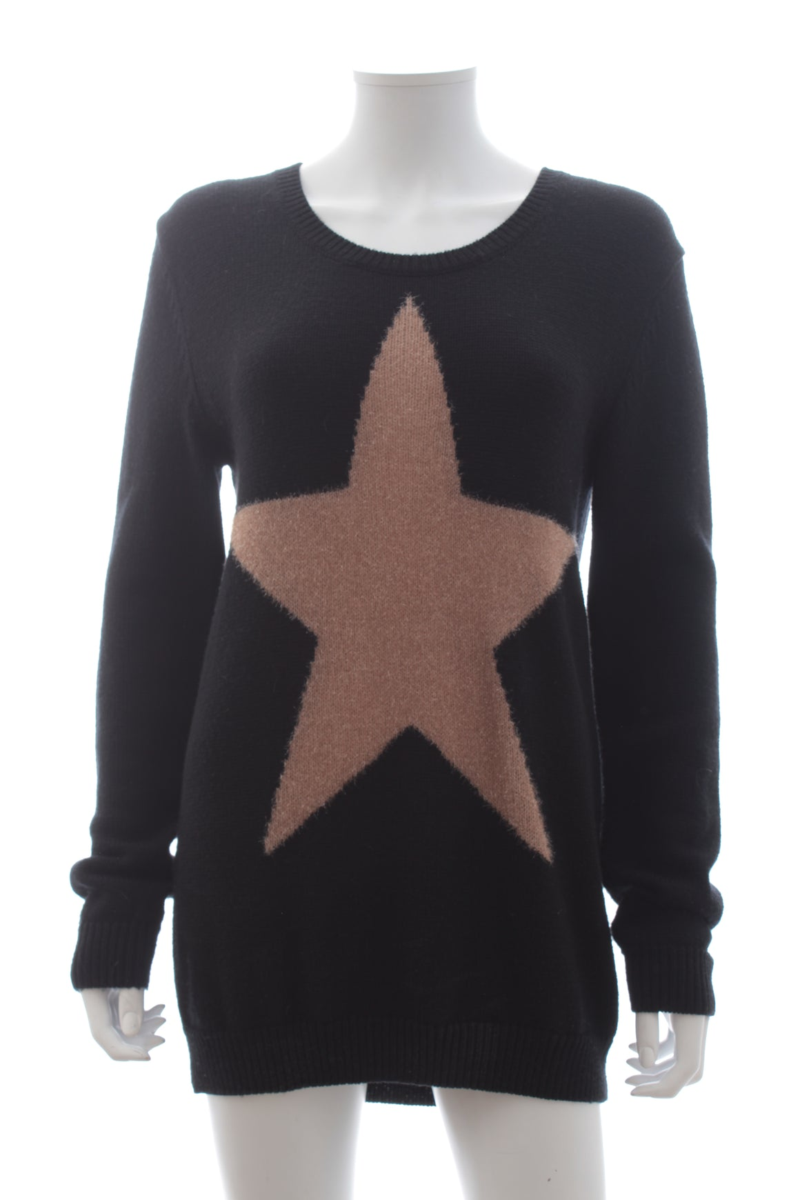 Markus Lupfer Star Merino Wool-Blend Sweater