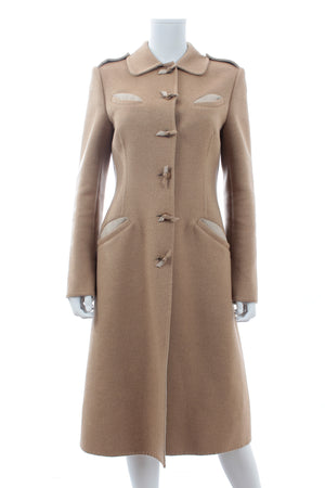 Prada Wool-Angora Long Coat