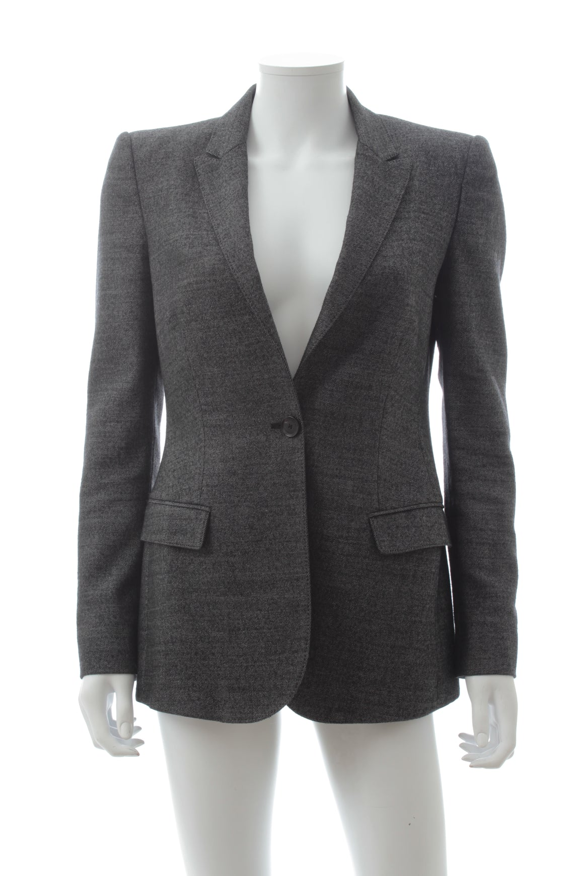 Burberry London Wool-Blend Tailored Blazer