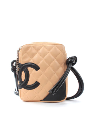 Chanel Cambon Ligne Quilted Leather Crossbody Bag