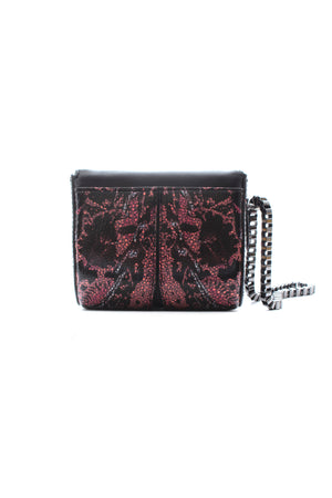 Alexander McQueen Mini Leather Box Wristlet