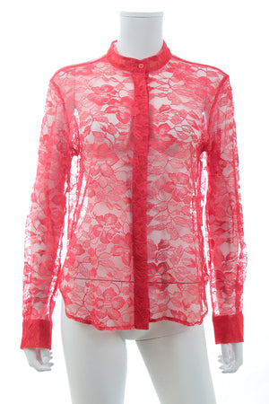 Christopher Kane Floral Lace Blouse
