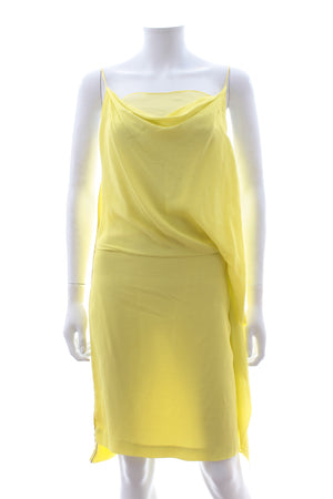 Diane Von Furstenberg 'Kairi' Silk Draped Dress