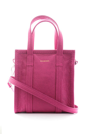 Balenciaga Bazar Leather Shopper Bag XXS