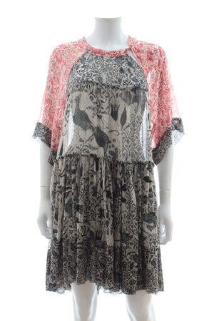 Isabel Marant Printed Silk-Chiffon Dress
