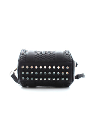 Alexander Wang Mini Rockie Woven Leather Bag