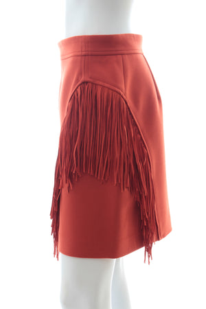 Maje 'Jano' Fringed Mini Skirt