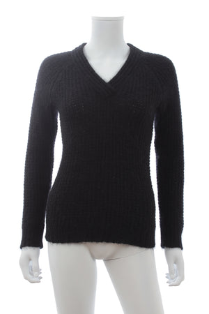 Balmain Mohair-Blend Knit Sweater