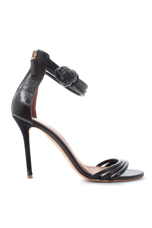Malone Souliers x Roksanda 'Ethel' Knotted Leather Sandals