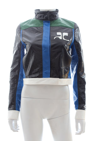 Courrèges Multi-Coloured Vinyl Jacket
