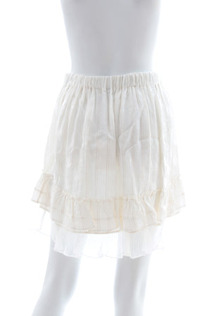 Isabel Marant Malou Ruffled Mini Skirt