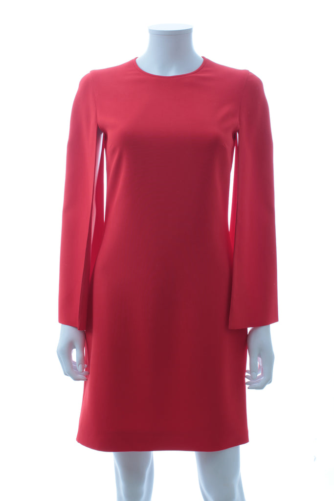 Givenchy Crepe Cape Dress