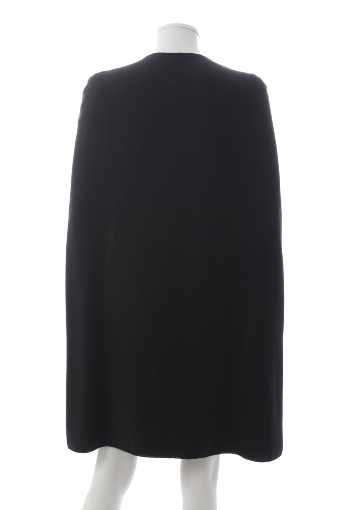 Stella McCartney 'Stella' Stretch-Cady Cape Dress