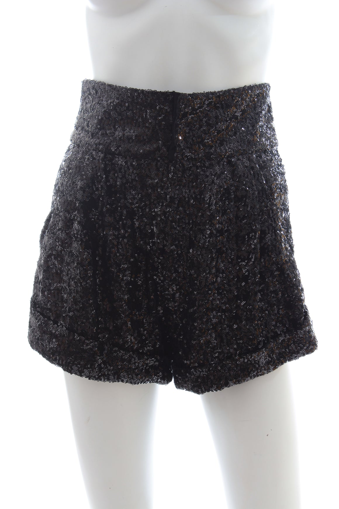 Isabel Marant Orta Sequined Crepe Shorts - Spring '19 Runway Collection
