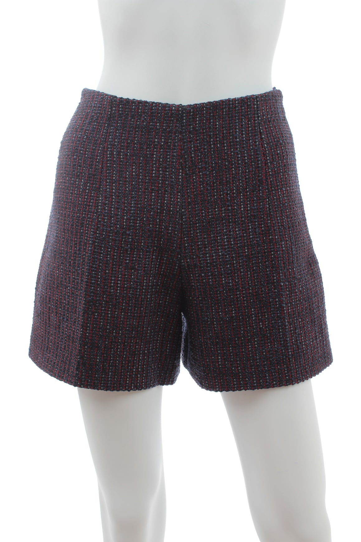 Carven Wool-Blend Tweed Shorts