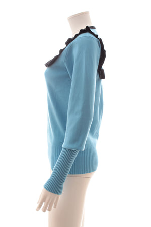 JW Anderson Ruffle-Trimmed Sweater
