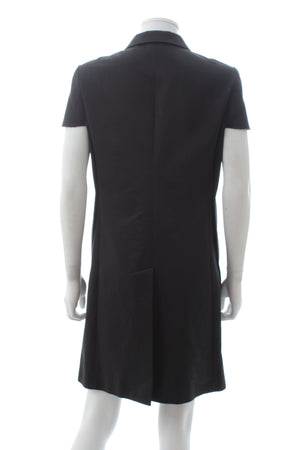 Comme des Garçons Deconstructed Sleeve Cotton Long Jacket