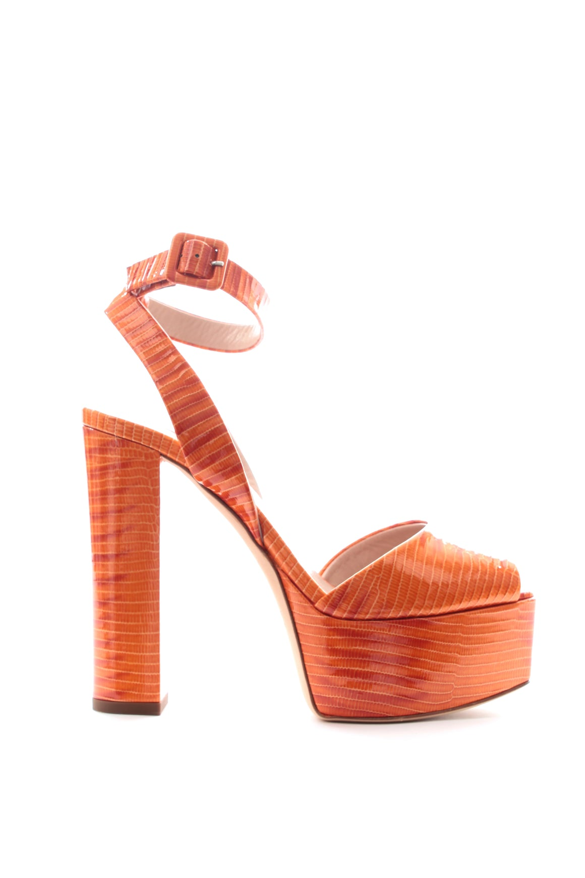 Giuseppe Zanotti Betty Platform Leather Sandals