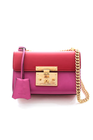 Gucci Padlock Small Leather Shoulder Bag