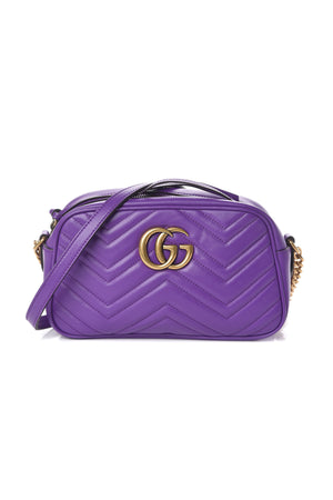 Gucci GG Marmont Small Matelassé Leather Shoulder Bag
