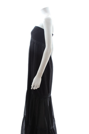 Charo Ruiz Cotton Strapless Maxi Dress