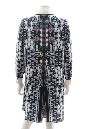Peter Pilotto Pinball Print Silk Shirtdress