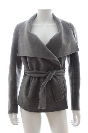 Joseph Wrap Wool-Cashmere Jacket