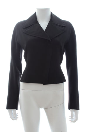 Alaïa Wool-Crepe Tailored Jacket